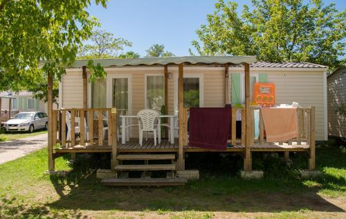 Mobil home tout confort en Ardèche