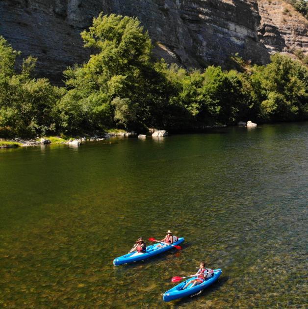 kayak riviere
